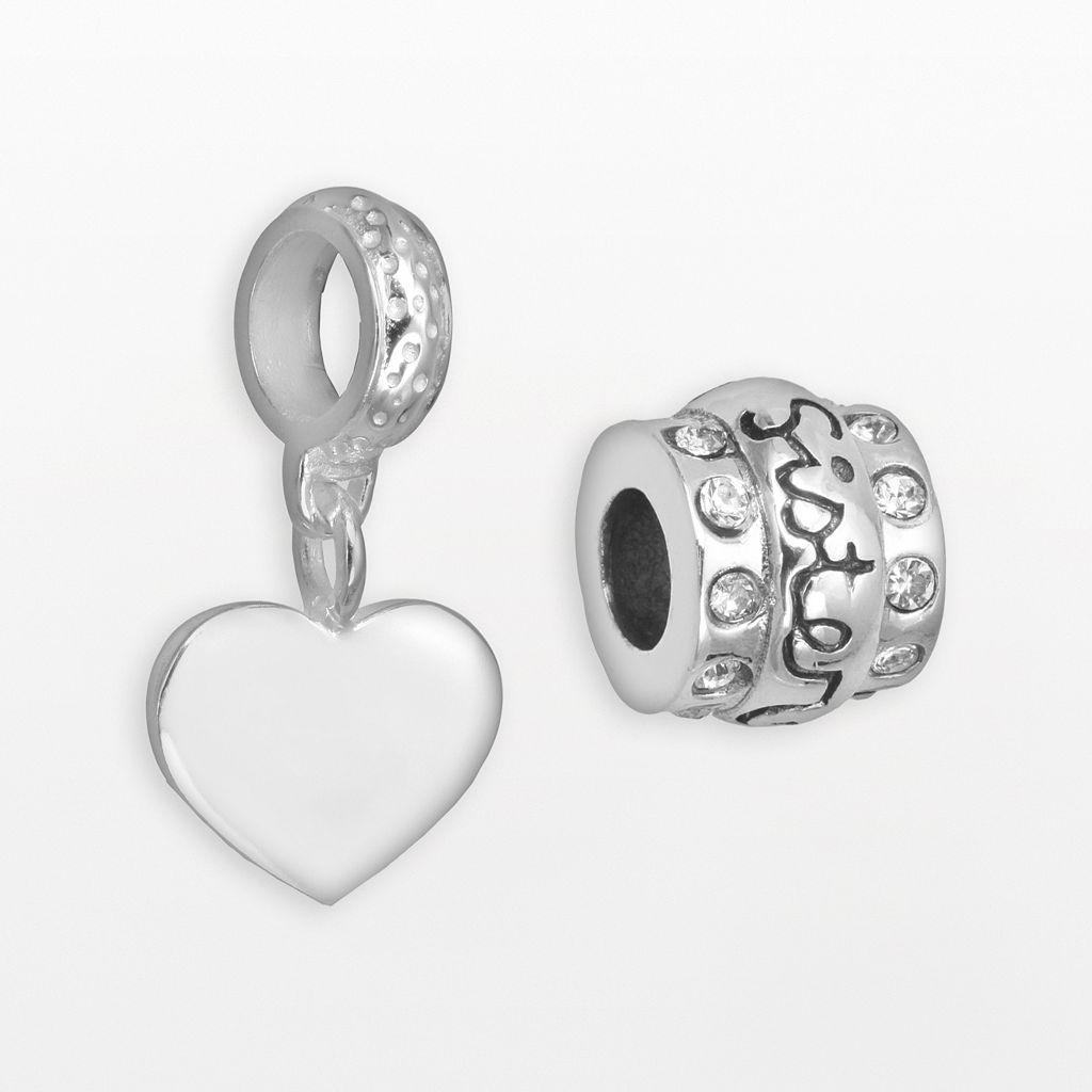 Individuality Beads Sterling Silver Crystal