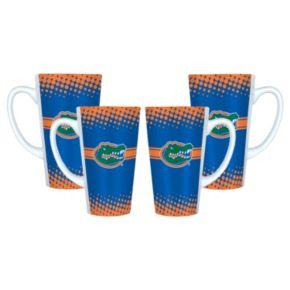 Florida Gators 4-pc. Latte Mug Set