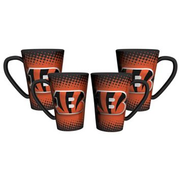 Cincinnati Bengals 4-pc. Latte Mug Set