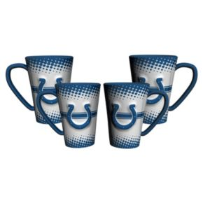 Indianapolis Colts 4-pc. Latte Mug Set