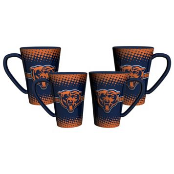 Chicago Bears 4-pc. Latte Mug Set