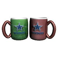 Dallas Cowboys 2 pc Field Mug Set