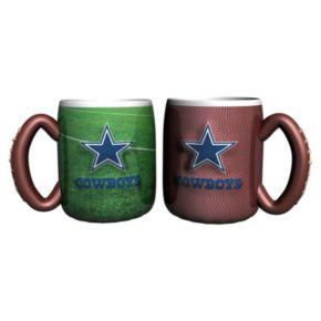Dallas Cowboys 2-pc. Field Mug Set