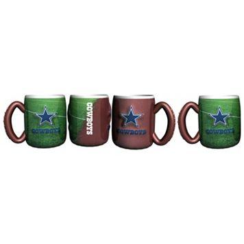 Dallas Cowboys 4-pc. Field Mug Set