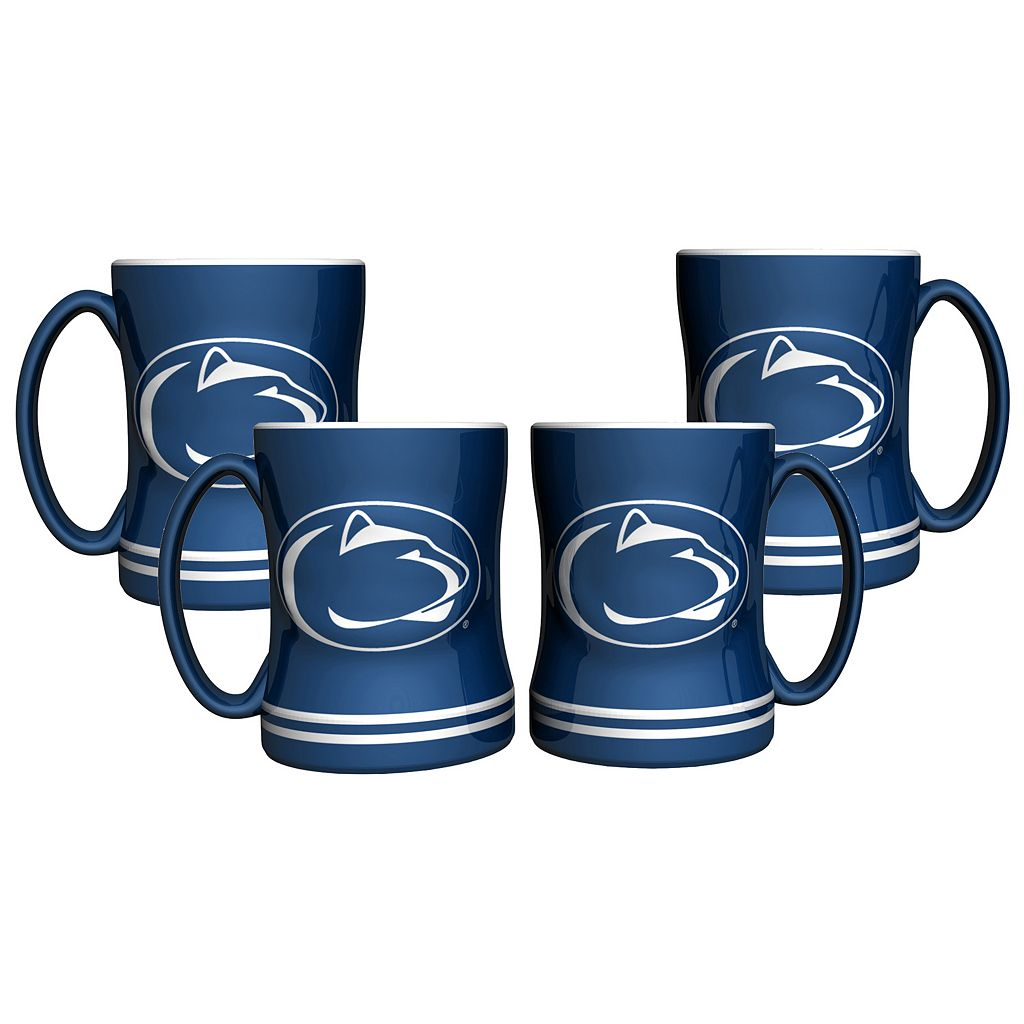 Penn State Nittany Lions 4-pk. Sculpted Relief Mug