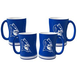 15oz Sculpted Duke Blue Devils Coffee Mug