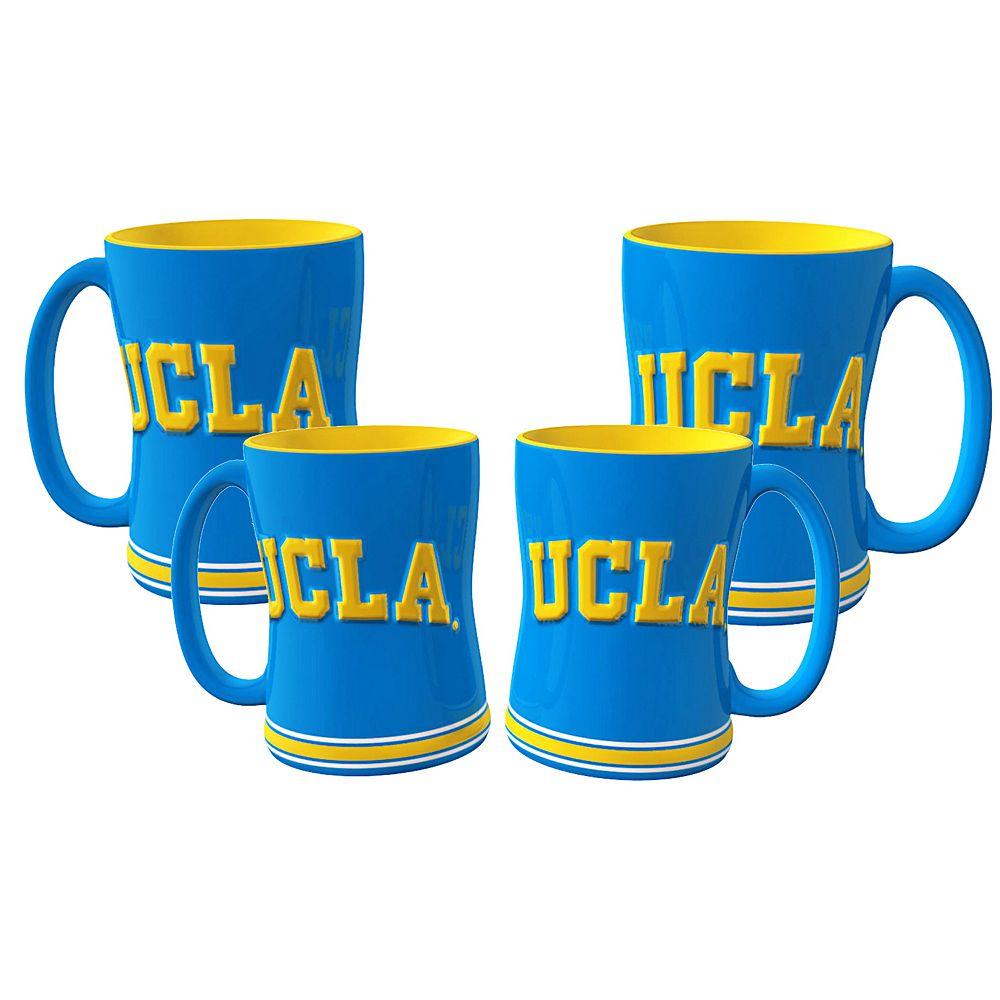 UCLA Bruins 4-pk. Sculpted Relief Mug