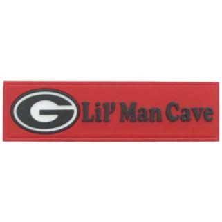 Georgia Bulldogs Lil' Man Cave Sign
