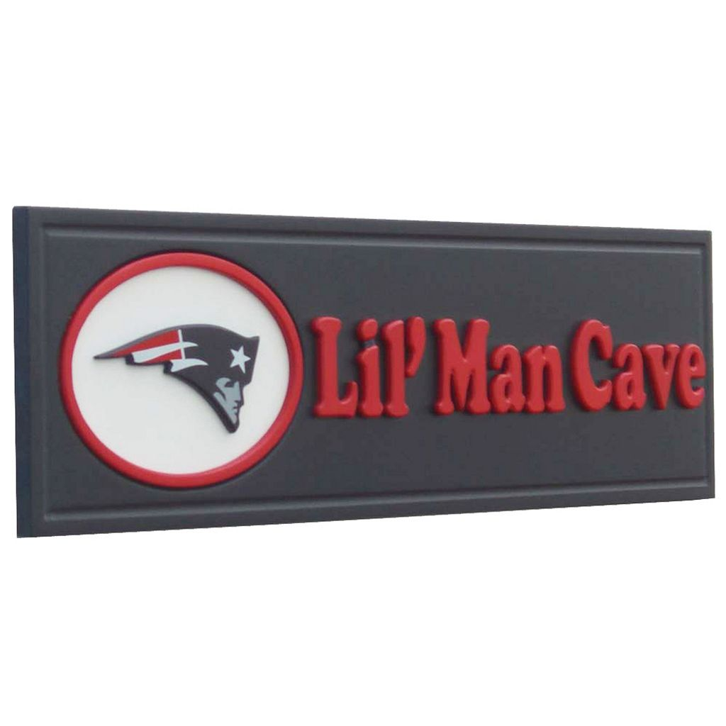 New EnglandPatriots Lil' Man Cave Sign