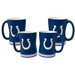 Indianapolis Colts 4 pkSculpted Relief Mug