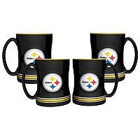 Pittsburgh Steelers 4 pkSculpted Relief Mug