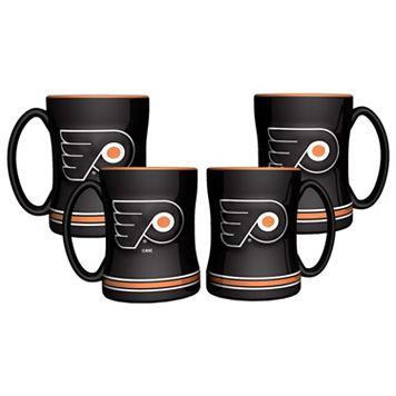 Philadelphia Flyers 4-pk. Sculpted Relief Mug