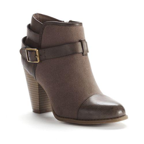 LC Lauren Conrad Ankle Booties - Women