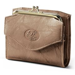 Buxton Heiress Leather Coin Pouch