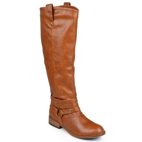 Journee Collection Walla Tall Wide Calf Riding Boots - Women