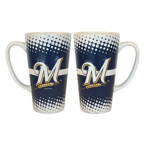 Milwaukee Brewers 2-pk. Latte Mug Set