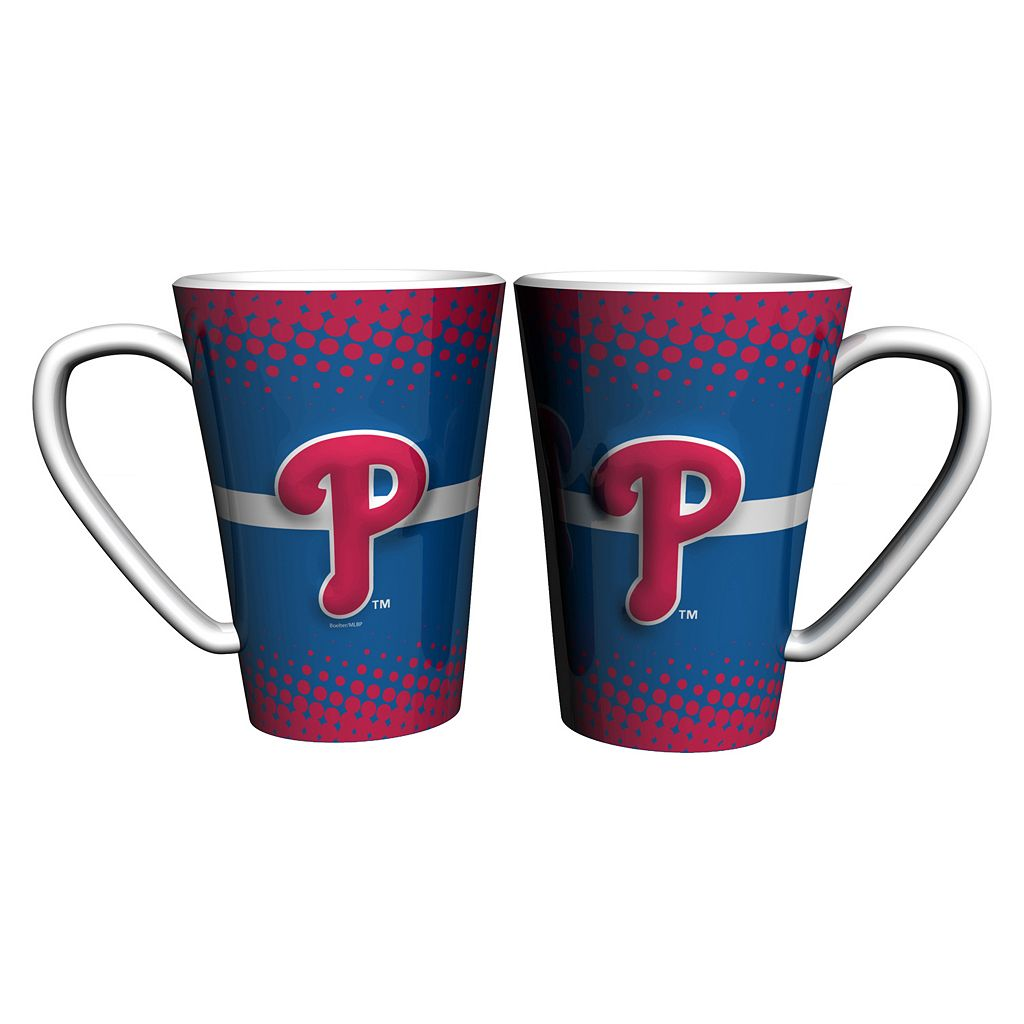 Philadelphia Phillies 2-pk. Latte Mug Set
