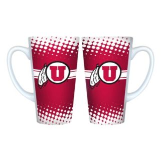 Utah Utes 2-pk. Latte Mug Set