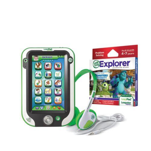 LeapFrog LeapPad Ultra Green Tablet, Disney / Pixar Monsters University Game and Headphones Gift Set