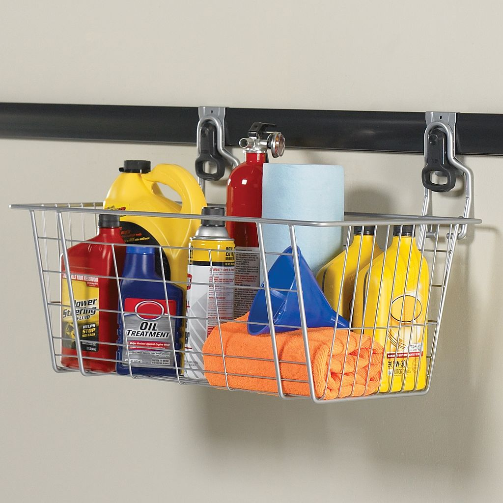 Rubbermaid FastTrack Wire Storage Basket