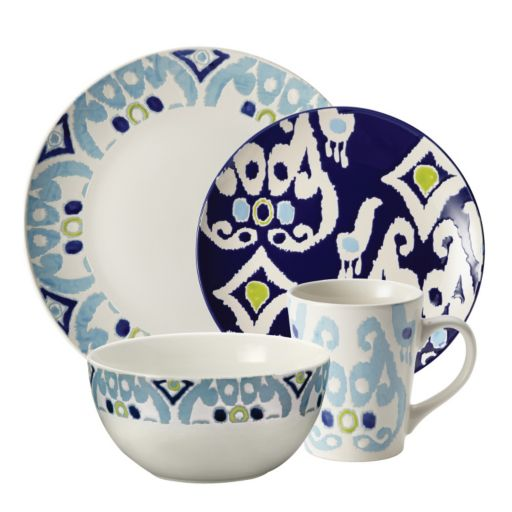 Rachael Ray Ikat 16-pc. Dinnerware Set
