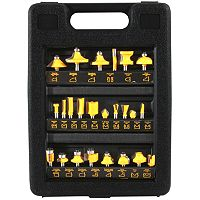 24 pc Router Bit Set