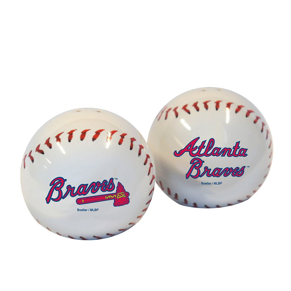 Atlanta Braves Salt & Pepper Shaker Set