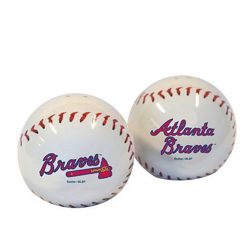 Atlanta Braves Salt & Pepper Shaker Set