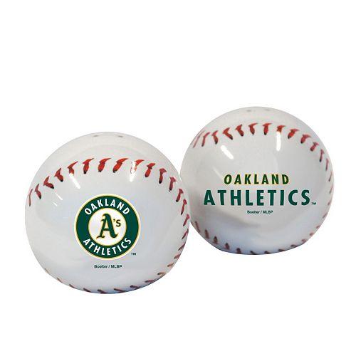Oakland Athletics Salt and Pepper Shaker Set