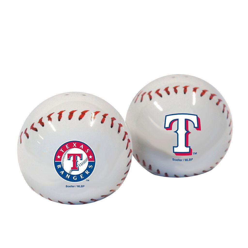 Texas Rangers Salt & Pepper Shaker Set