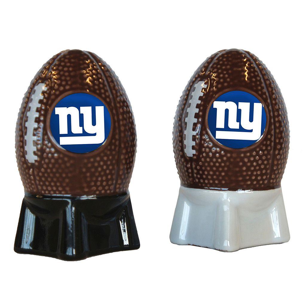 New York Giants Salt & Pepper Shaker Set