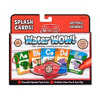 Melissa & Doug Alphabet Splash Cards