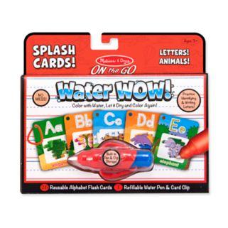 Melissa and Doug Alphabet Splash Cards