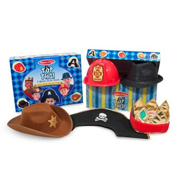 Melissa & Doug Top This! 5-pk. Role Play Hats
