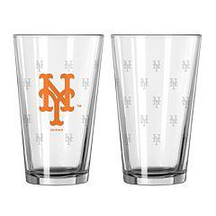New York Mets 2-pc. Pint Glass Set