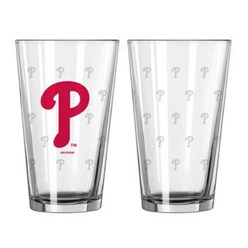 Philadelphia Phillies 2-pc. Pint Glass Set