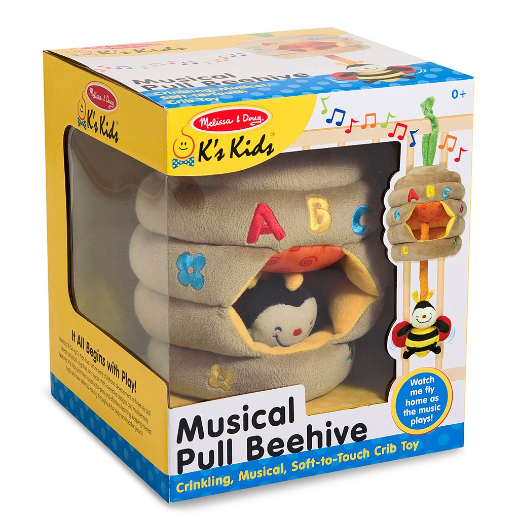 Melissa and Doug K's Kids Musical Pull Beehive