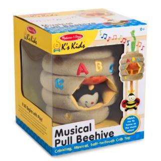 Melissa and Doug K's Kids Musical Pull Beehive