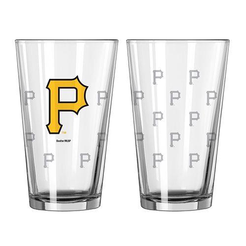 Pittsburgh Pirates 2-pc. Pint Glass Set