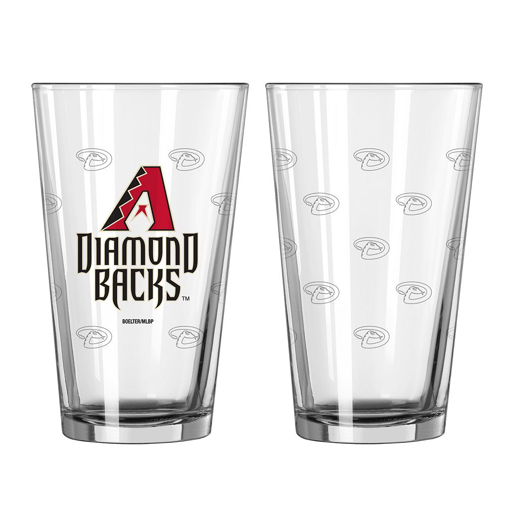 Arizona Diamondbacks 2-pc. Pint Glass Set