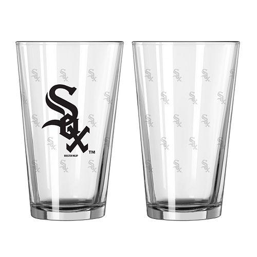 Chicago White Sox 2-pc. Pint Glass Set