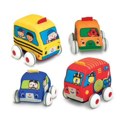 Melissa and Doug K's Kids Pull-Back Vehicles