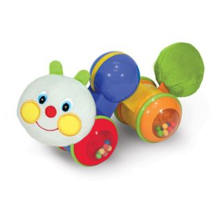 Melissa and Doug K's Kids Press and Go Inchworm