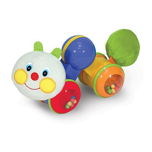 Melissa & Doug K's Kids Press & Go Inchworm