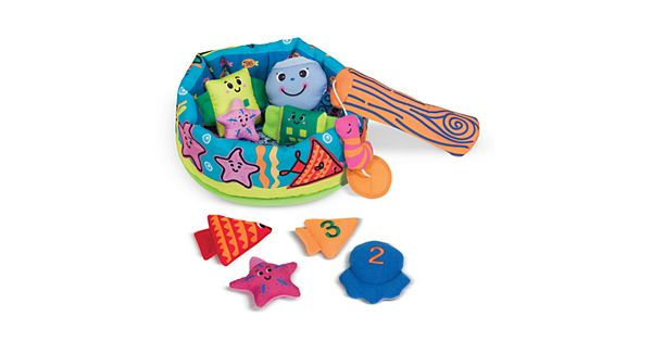 Melissa and doug k 39 s kids fish and count game for Kansas fish and game