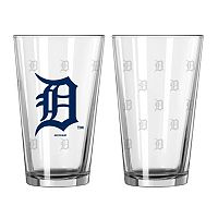 Detroit Tigers 2-pc. Pint Glass Set
