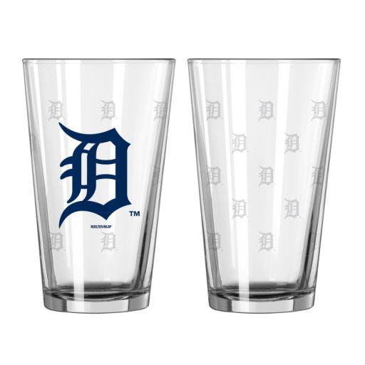 Detroit Tigers 2-pc. Pint Glass Set