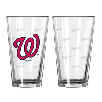 Washington Nationals 2-pc. Pint Glass Set