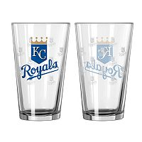 Kansas City Royals 2-pc. Pint Glass Set