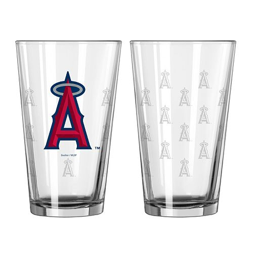 Los Angeles Angels of Anaheim 2-pc. Pint Glass Set
